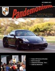 Feature: Of Passions & Porsches • Hearts & Garages - PCA - Orange ...