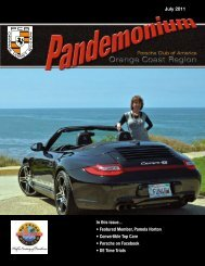 In this issue... • Featured Member, Pamela Horton • Convertible Top ...