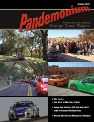 OCR flies into 2010 with even more Driving Events - PCA - Orange ...