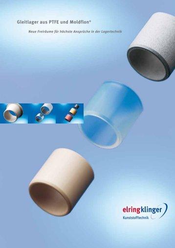 Gleitlager aus PTFE und Moldflon® - ElringKlinger Kunststofftechnik