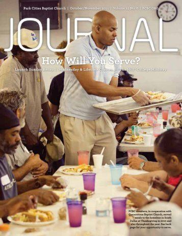 How Will You Serve? - Park Cities Baptist Church