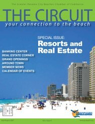 Special issue - Panama City Beach Chamber of Commerce
