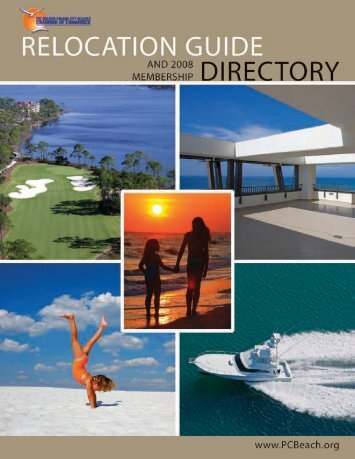 2008 membership directory - Panama City Beach Chamber of ...