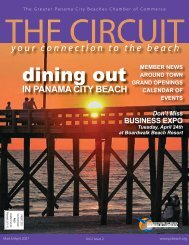dining out - Panama City Beach Chamber of Commerce