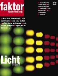 Faktor Licht 3/03 - eTeam GmbH