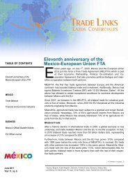 Eleventh anniversary of the Mexico-European Union FTA - Awex