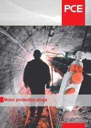 Motor protection plugs - pc electric