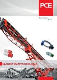 Spezielle Steckvorrichtungen - pc electric