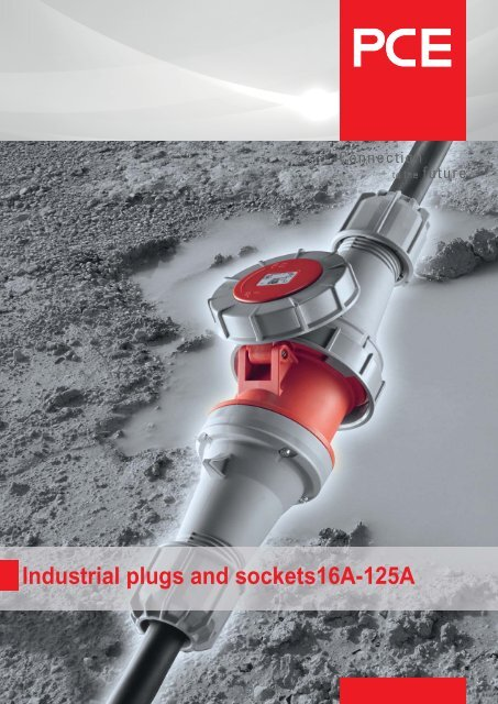 Industrial plugs and sockets16A-125A - pc electric