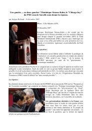 Une gauche, ... ou deux gauches ? Dominique Strauss-Kahn, le ...