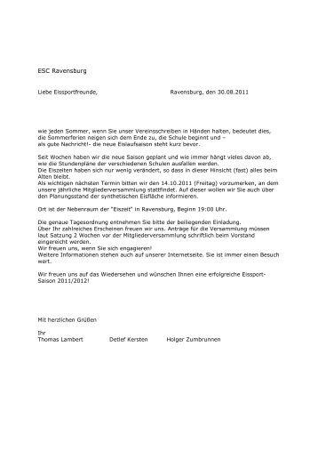 Einladung - ESCR