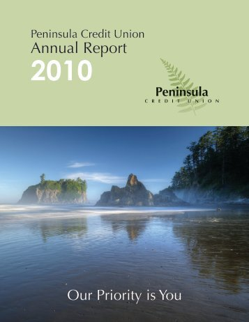 Annual Report - Peninsula Credit Union
