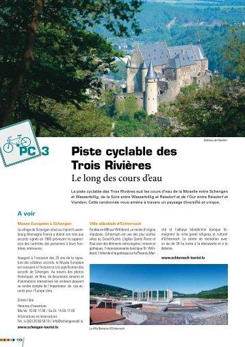 PC 3 Piste cyclable des Trois Rivières