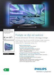 32PFL5008K/12 Philips Izjemno tanek LED-televizor 3D Smart z 2 ...