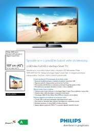 42PFL3507H/12 Philips Pametni LED-televizor z Digital ... - PC H.AND