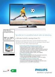 42PFL4007H/12 Philips Pametni LED-televizor s ... - PC H.AND