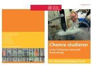 Chemie studieren - Technische Universität Braunschweig