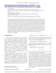J. Chem. Phys. 124, 224324 (2006) - Institute for Physical and ...