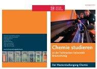 Masterstudiengang Chemie - Technische Universität Braunschweig
