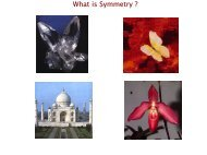 What is Symmetry ?