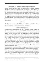 Hydrolyse von Harnstoff / Michaelis-Menten-Kinetik - Physikalische ...