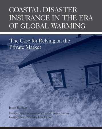 coastal disaster insurance in the era of global warming - Property ...