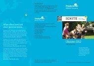 IGNITE Ukraine Team Leaflet 2012 - Board of Mission Overseas