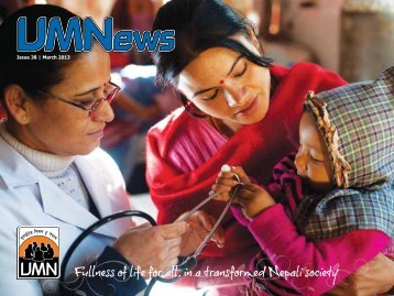 Issue 38 | March 2013 - Board of Mission Overseas