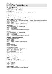 Seite 1 von 2 Katholisches Dekanat Pforzheim (Stadt) Gottesdienste ...