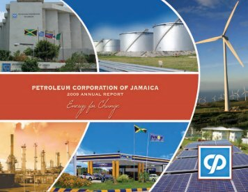 PCJ Group Annual Report 2009 - Petroleum Corporation Of Jamaica