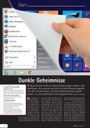 Dunkle Geheimnisse - PC Praxis