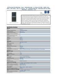 HP ProLiant ML350 G4p - Tour - bidirectionnel - 1 x Xeon ... - Pcprice