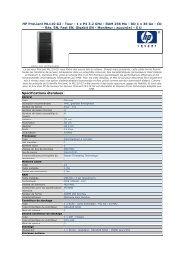 HP ProLiant ML110 G2 - Tour - 1 x P4 3.2 GHz - RAM 256 ... - Pcprice