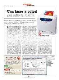 Da Xerox una laser a colori per tutti - PC Professionale