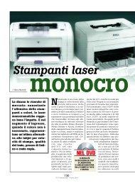 Stampanti laser monocromatiche - PC Professionale