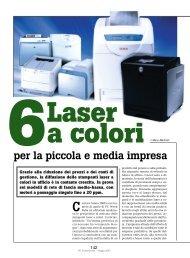 Sei Laser a colori per la piccola e media impresa - PC Professionale