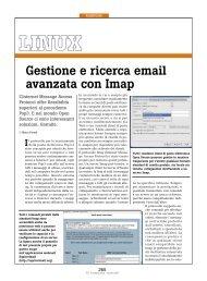 Gestione e ricerca email avanzata con Imap - PC Professionale