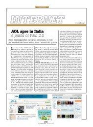 AOL apre in Italia e punta al Web 2.0 - PC Professionale
