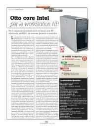 Otto core Intel per le workstation HP - PC Professionale