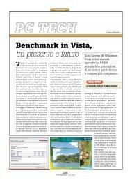 Benchmark in Vista, tra presente e futuro - PC Professionale