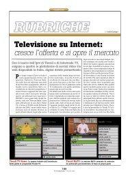 Televisione su Internet: cresce l'offerta e si apre il ... - PC Professionale