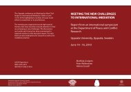 Meeting the New Challenges to International Mediation