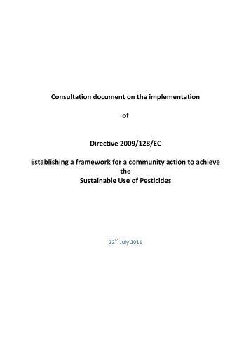 Sustainable Use of Pesticides Directive - Pesticide Control Service ...