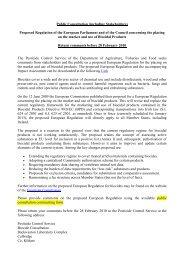 Public Consultation on new Biocide Regulation - Pesticide Control ...