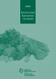 2006 Pesticides Residues in Food - Pesticide Control Service ...