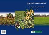 Pesticide Usuage Survey Report Number 1 - Pesticide Control ...