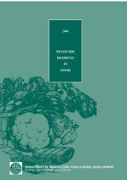 pesticide residues in food - Pesticide Control Service - Department ...