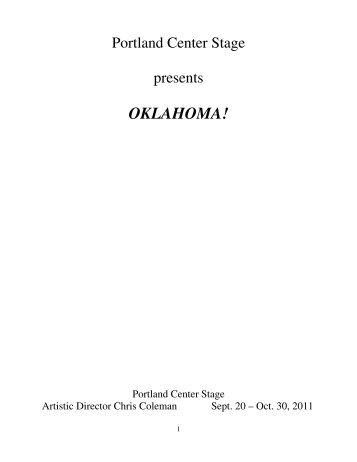 OKLAHOMA! - Portland Center Stage