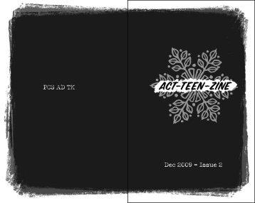 PCS AD TK Dec 2009 - Issue 2 - Portland Center Stage