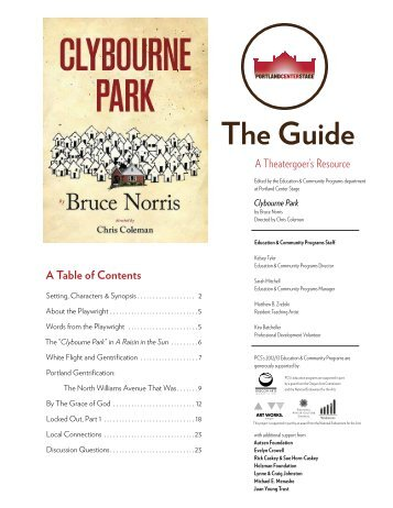 The Guide - Portland Center Stage